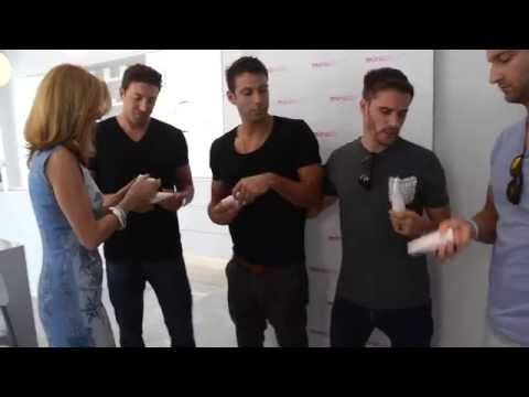 The Bechelors from the ABC Show The Bachelor are in Toronto for TIFF Film Festival and are being pampered with Miracle 10's M10 for Men Skincare.