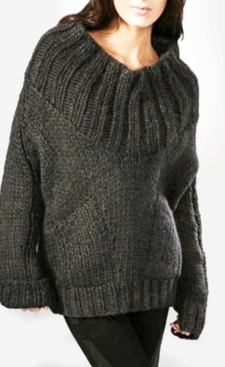 Helmut Lang Grey Sweater | VAUNTE