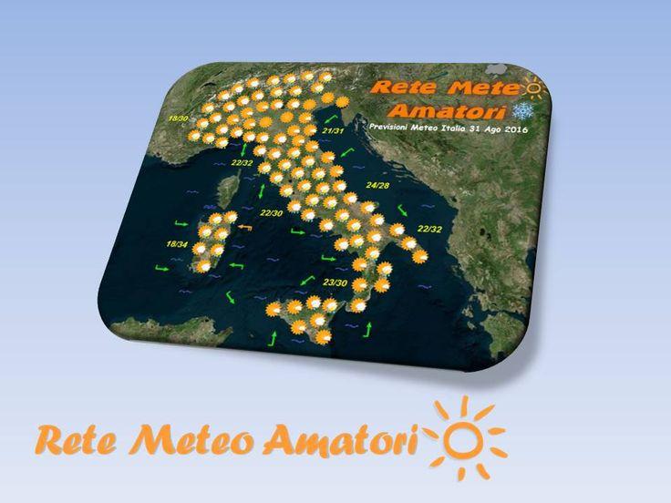 Previsioni Meteo Italia per il 3 Ottobre 2016