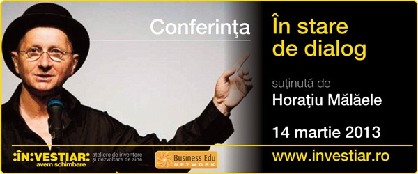 "Conferinta ""In stare de dialog"" - Horatiu Malaele 