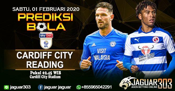 Prediksi Cardiff City Vs Reading 01 Februari 2020 In 2020 Cardiff City City Reading