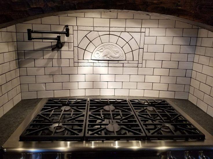 Decorative Ceramic Tiles Kitchen Delectable 34 Best Artistic Ceramic Tile Decor Images On Pinterest  Hand 2018