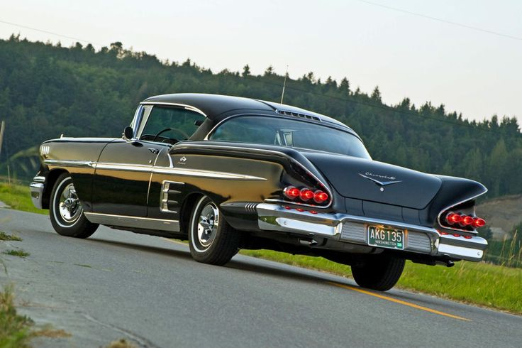 58 chevy impala ss blue - Bing Images
