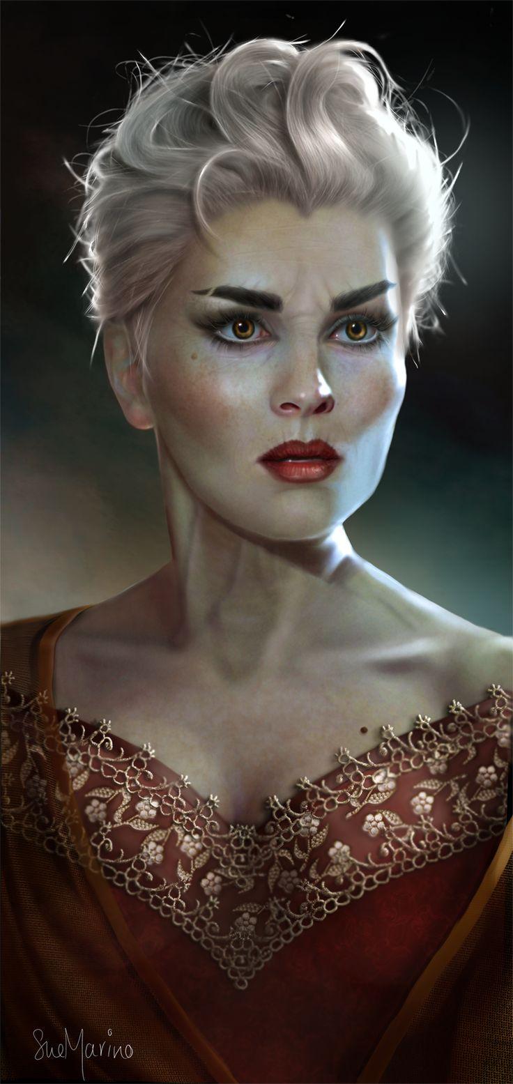 The Lady Finoula By Evniki Deviantart Com On Deviantart