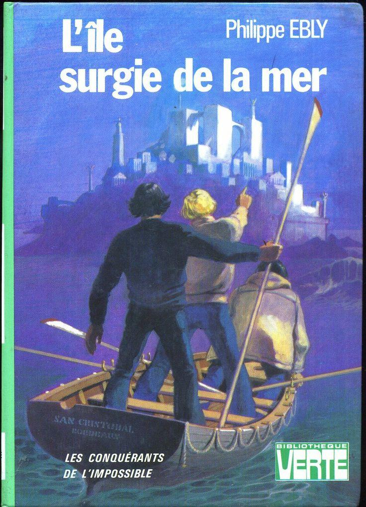 Philippe Ébly Hachette Bibliothèque Verte 1977