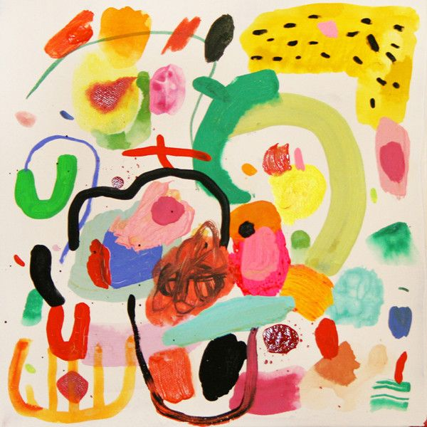 Abstract Painting, Kindah Khalidy - Baba Souk