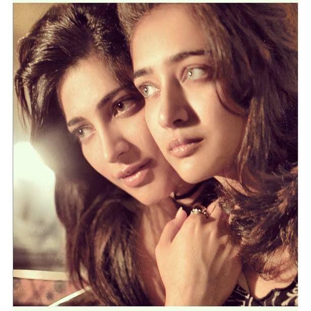 Shruti and her sister Akshara