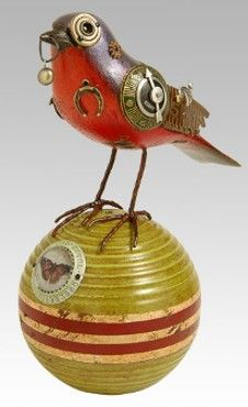 steampunk birds jim mullan - Google Search