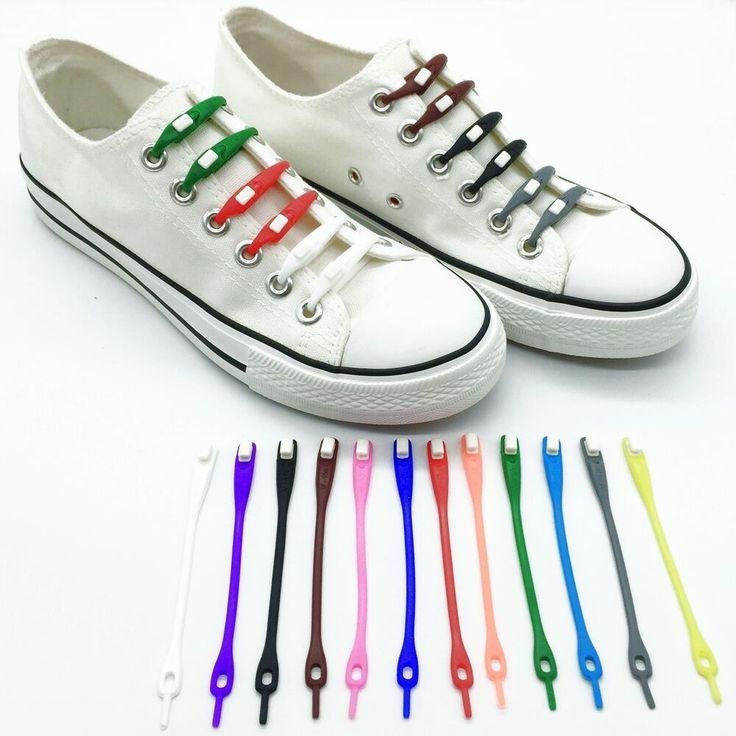 12 stks/partij 2017 nieuwste verpakking zubits lock kleurrijke athletic running geen stropdas elastische siliconen schoenveters shoe string veters stijl