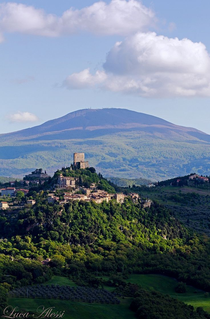 Castiglione d'Orcia, Siena, Tuscany, Italy
