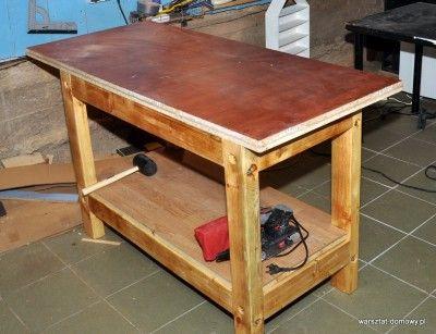 Projekt: Stół warsztatowy