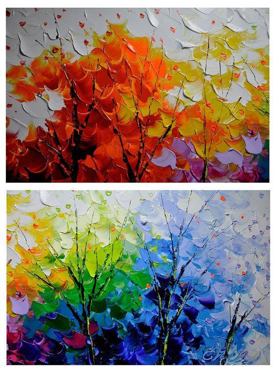 M s de 25 ideas incre bles sobre pintura abstracta moderna - Pinturas acrilicas modernas ...