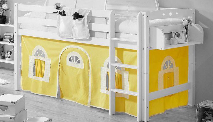 Ticaa Vorhang-Set, Landhausoptik Jetzt bestellen unter: https://moebel.ladendirekt.de/kinderzimmer/betten/baldachine/?uid=f4fd18e0-0cbf-5059-bb02-d40b1e55a847&utm_source=pinterest&utm_medium=pin&utm_campaign=boards #baldachine #kinderzimmer #betten