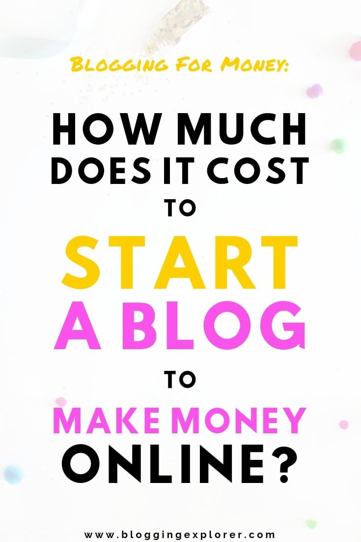 3f9fdbfefbed How much does it REALLY cost to start a successful blog and turn it into an