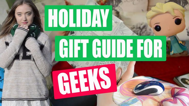 Last Minute Holiday Gift Ideas for Geeks!