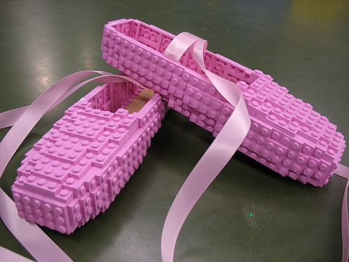 LEGO Ballet Shoes   Flickr - Photo Sharing!