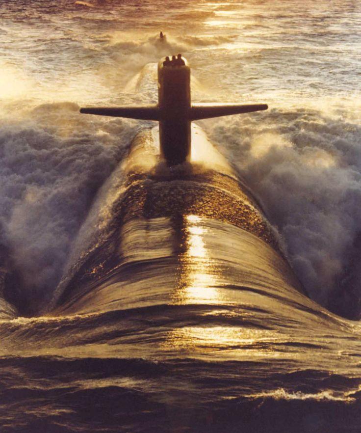 Ohio Class Ballistic Missile Submarine USS Nebraska (SSBN-739)
