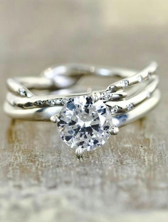 Would love to reset my diamond in something unique like this.
