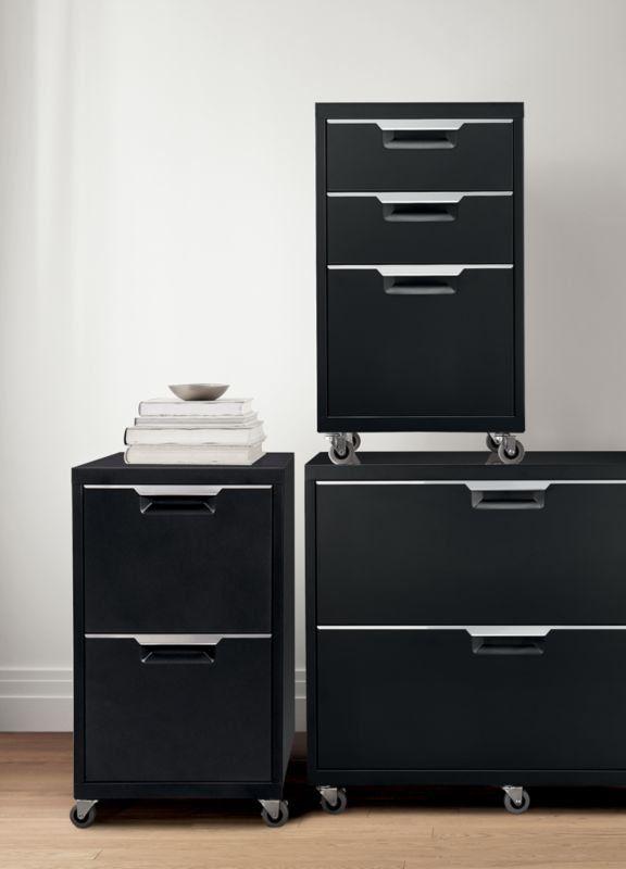 Tps Black 2 Drawer Filing Cabinet Reviews Cb2 Drawer Filing Cabinet Filing Cabinet Drawers