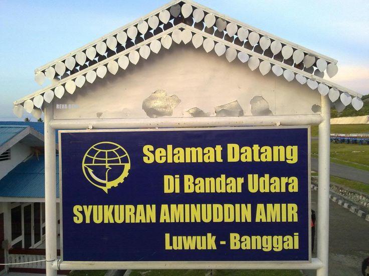 Bandar Udara SYUKURAN AMINUDDIN AMIR LUWUK BANGGAI