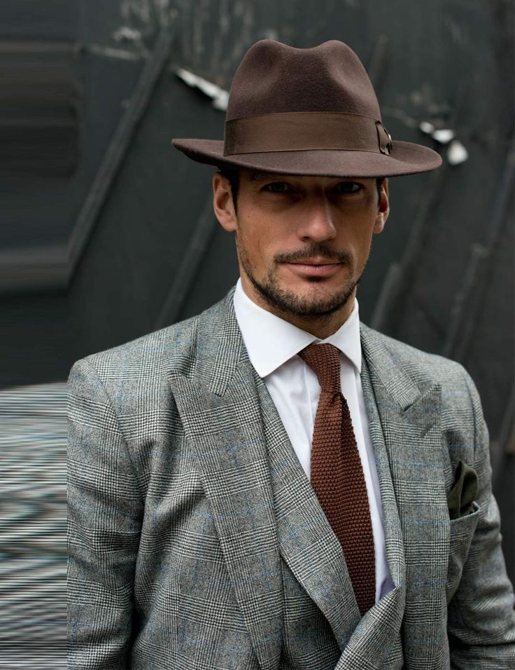 David Gandy | London Collections Men AW13 street style | ELLE UK