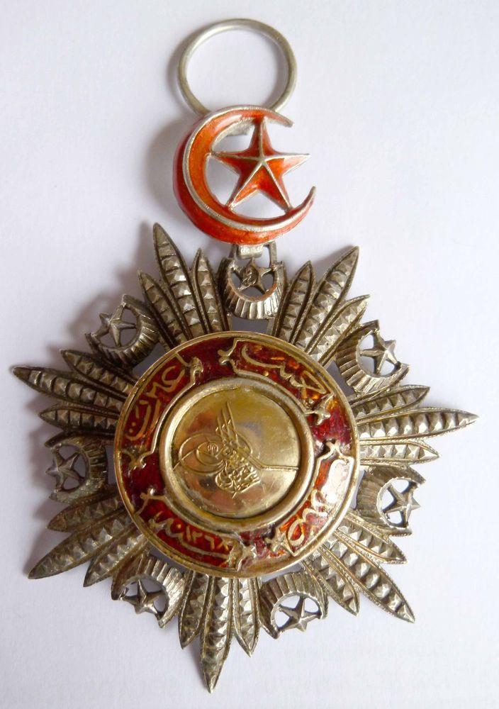 Türkei Osmanisches Reich Medjidie-Orden IV. Klasse Gold/silber