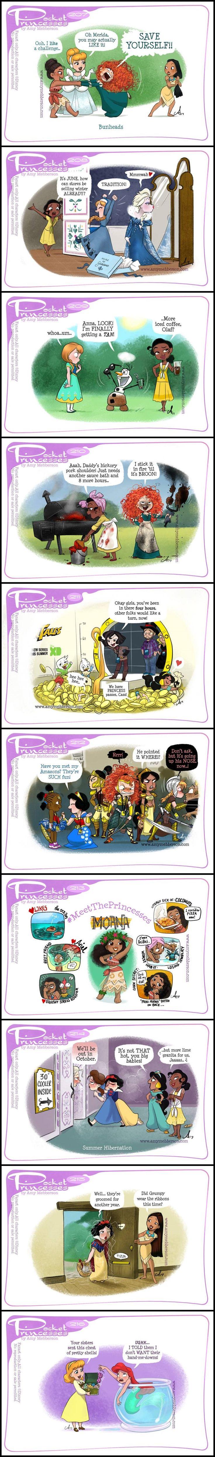 Pocket Princesses (Part 21) by Amy Mebberson