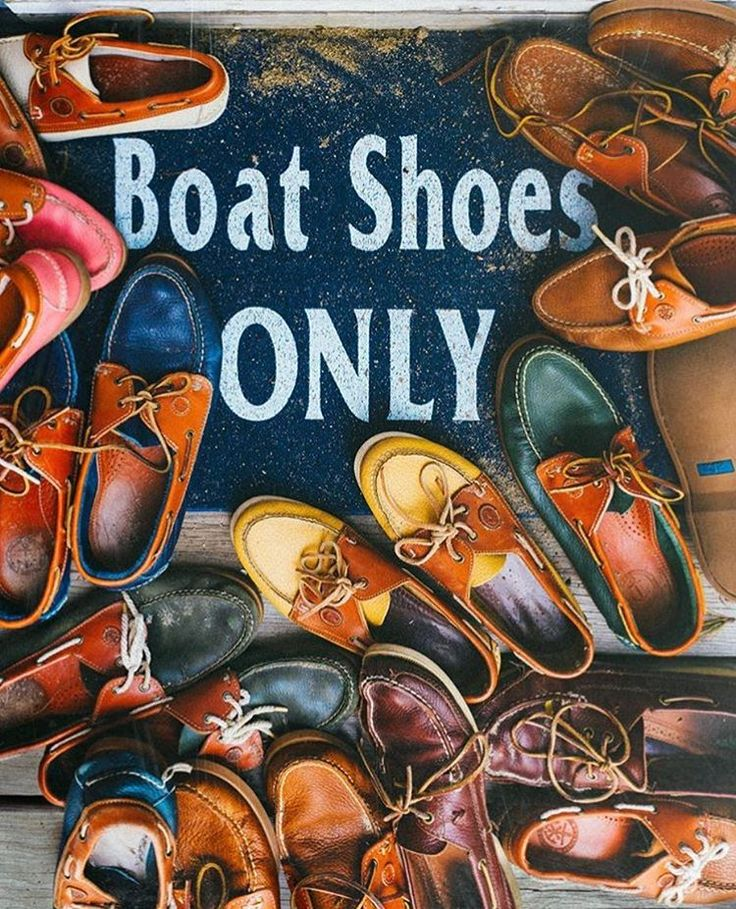 Boat Shoes Only