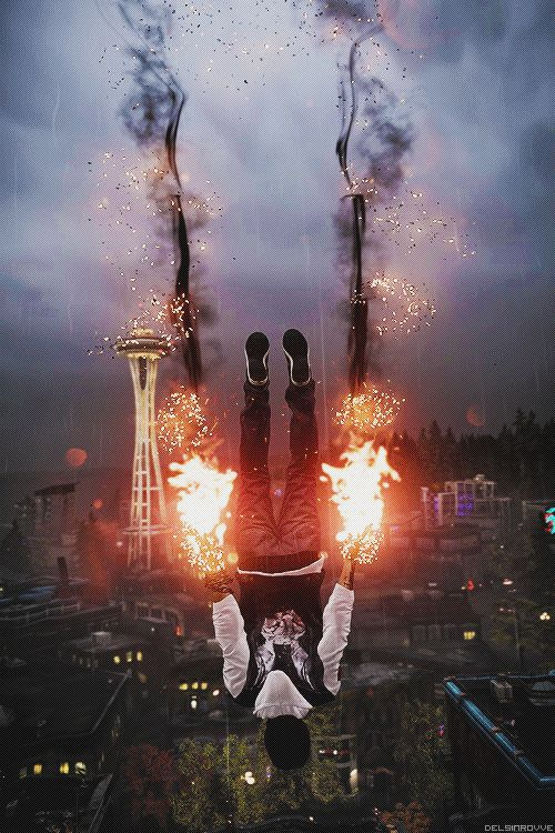 Infamous Second Son is one of my favorite game in 2014. Not only because of Troy Baker.