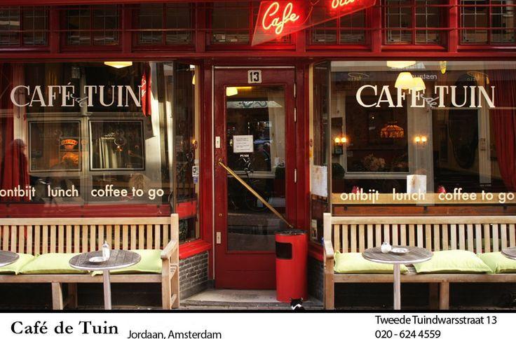 Cafe de Tuin | Amsterdam - Tweede Tuindwarsstraat, Jordaan |