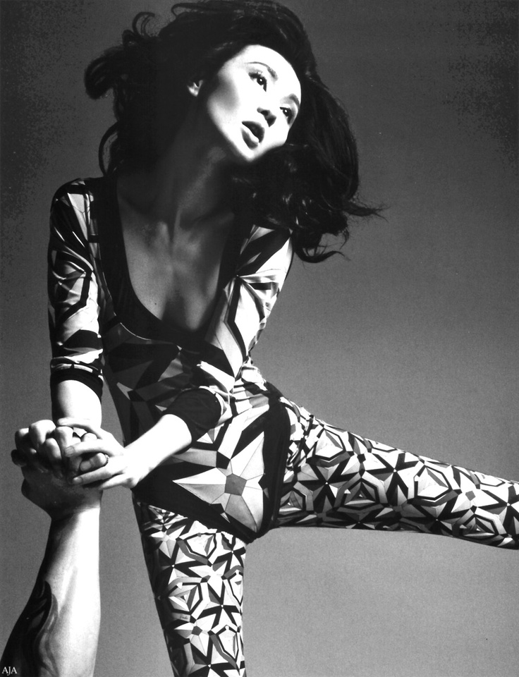 """Maggie Cheung in """"On the Move"""", Vogue China, August 2008 by Mario Sorrenti"""