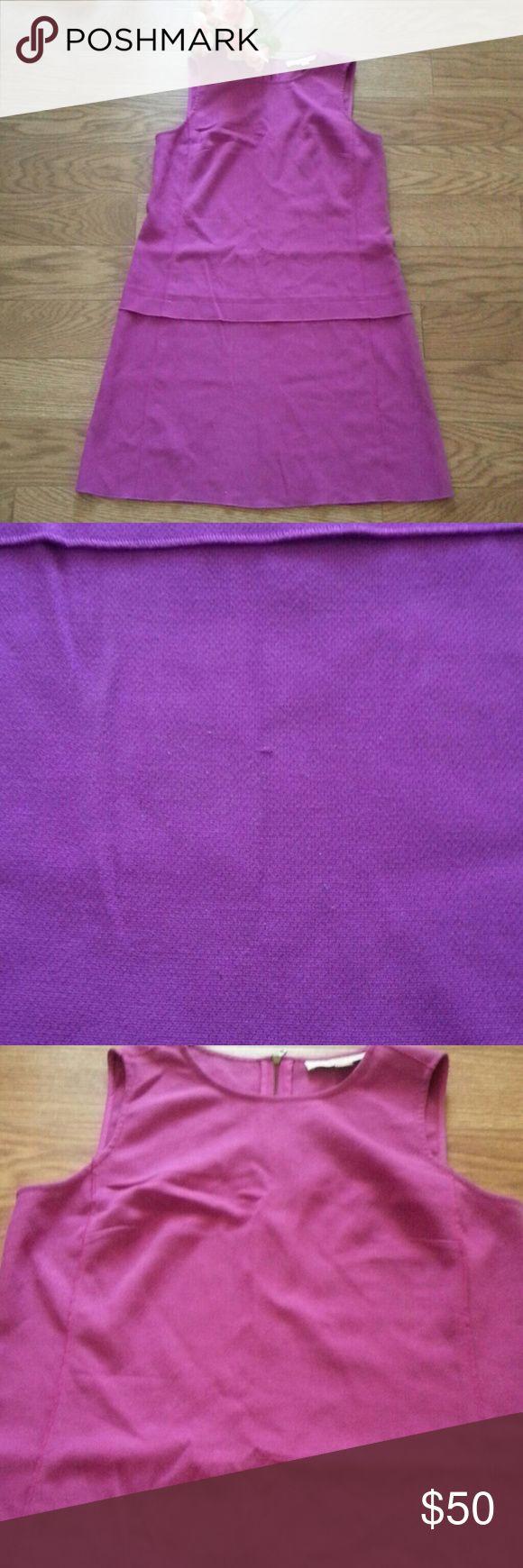 """LOFT Ann Taylor Petite Dress Size 8 Petite Very good condition Color is like the last photo,  purple pink Armpit to armpit 18"""" Armpit to hem 25"""" LOFT Dresses"""
