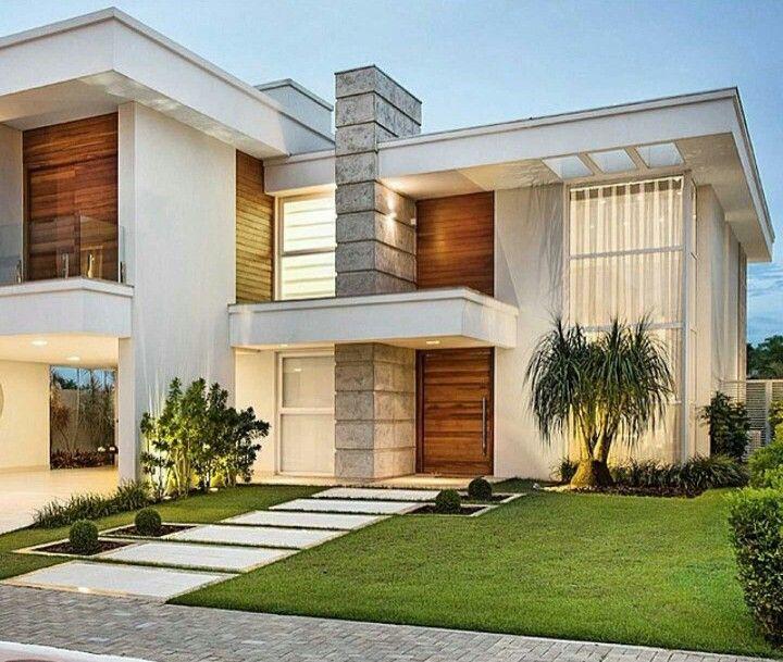 17 best images about fachadas de sobrados on pinterest - Fachada casas modernas ...
