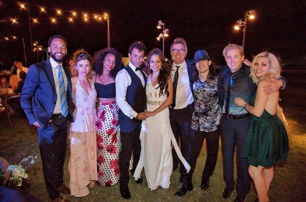 See Pics From Corbin Bleu and Sasha Clements' Wedding