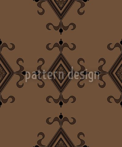 Gothic Brown by Martina Stadler available for download as a vector file on patterndesigns.com