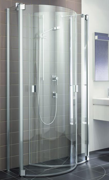Awesome Fold Away Shower Enclosure via Kermi