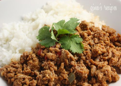 Turkey Picadillo is a lighter alternative to traditional Cuban beef picadillo. It's great with rice and plantains, or as a filling for empanadas, tacos, stuffed peppers and more. Turkey Picadillo Gina's Weight Watcher Recipes Servings: 4 • Serving Size: 1/4 • Points +: 4 pts • SmartPoints:1 Calories: 178.5 • Fat: 7.8 g • Protein: 20.5 g • Carb: 7.8 g • Fiber: 1.5 g 1.25 lb 93% lean ground turkey 4 oz (1/2 can) tomato sauce kosher salt fresh ground pepper 1 tsp ground cumin...