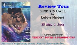 """#BookReview Siren's Call by @DebHerbertWrit on @CharlineRatclif 's blog...""""a fun read. Well-written, appropriately suspenseful where needed and overall an engaging read..."""" http://www.charlineratcliffblog.com/2015/06/01/charline-ratcliff-reviews-sirens-call-by-debbie-herbert/ #ReviewTour #NjkinnyToursPromo #MustRead #Mermaid #ParanormalRomance"""