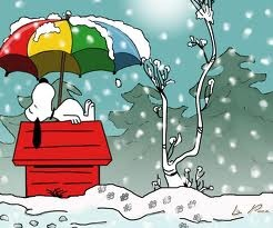 166 best winter images on pinterest winter winter snow and christmas art - Snoopy wallpaper for walls ...