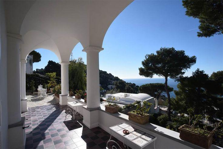 Impressive Villa in the heart of Capri, Naples, Italy – Luxury Home For Sale