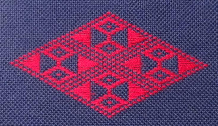Kogin embroidery free Hishizashi Patterns