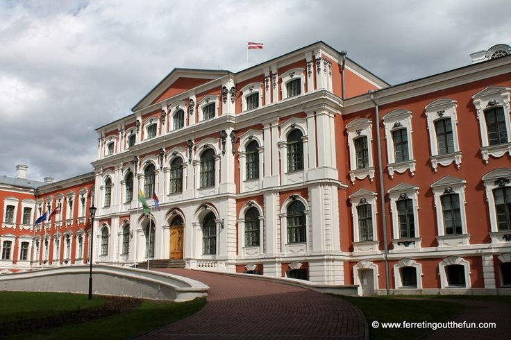 Searching for Beauty in Jelgava, Latvia - Ferreting Out the Fun