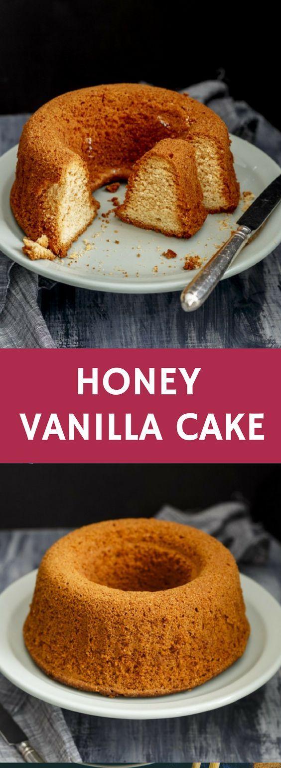 Honey Vanilla Cake   #honey #vanilla #cake #teacake #teatime #bundtcake