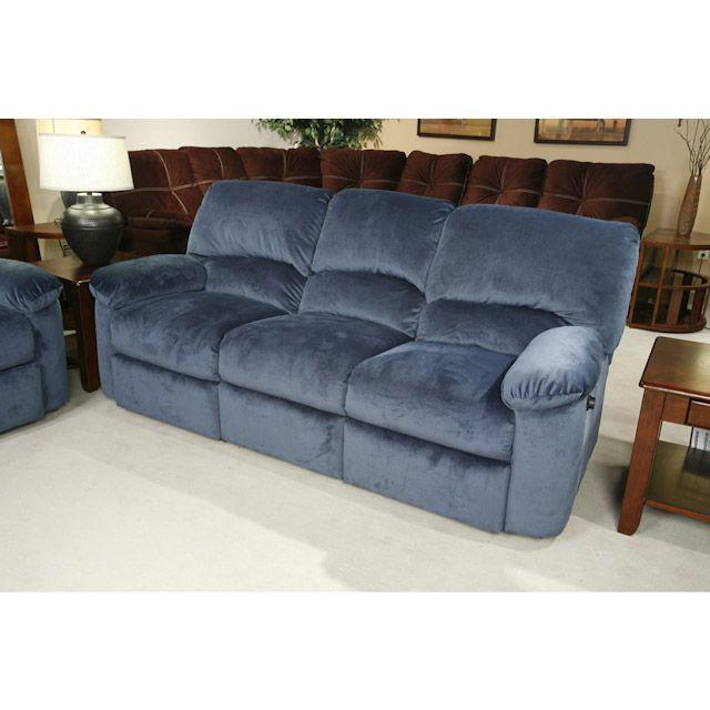 Blue Reclining Sofa Wayfair Custom Upholstery Tricia ...