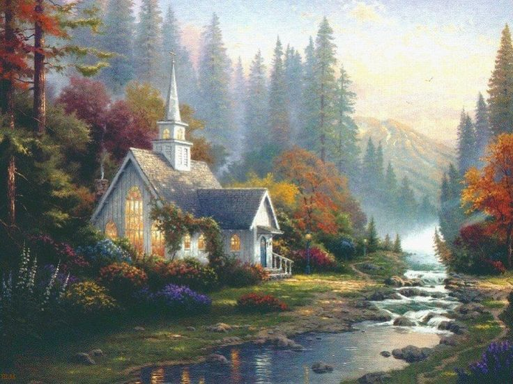 Thomas Kinkade | Pinturas de Thomas Kinkade. - Taringa!