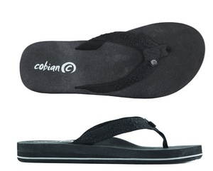 Bounce Black cobian flip flops...the MOST comfortable sandals ever!