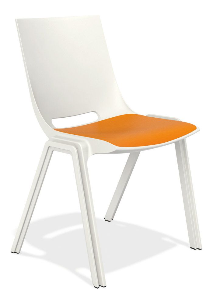 plastic backrest, plastic seat