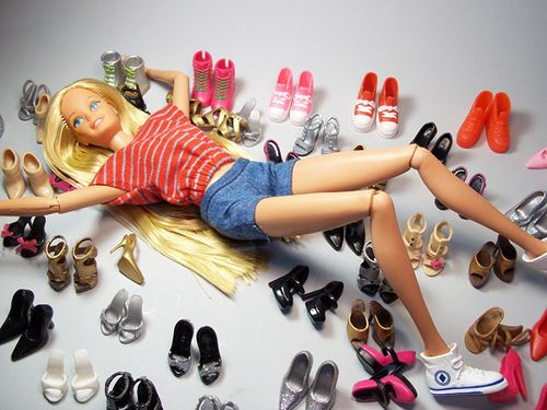 Barhie's Shoes Collection, by Salvador L Arriaga - Flickr
