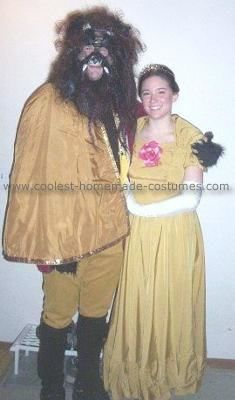 Coolest Homemade Beauty And The Beast Costume