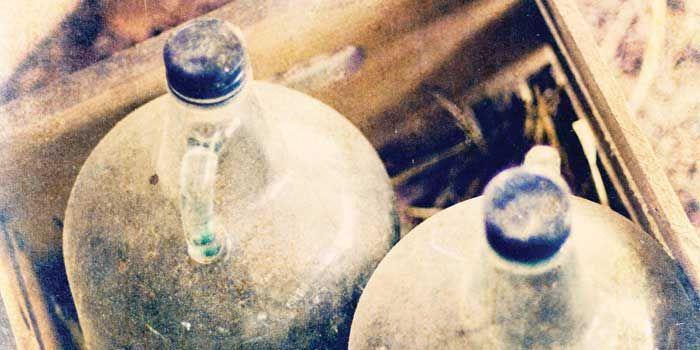 History in a Mason Jar: Moonshine Labels, Moonshine Jug, Masonb Jars, Mason Bal Jars, Jars Fetish, Mason Jars, Distilled, Make Your Own Moonshine, Moonshine Elements